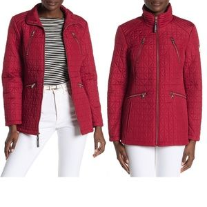 Vince Camuto Quilted Zip Front Insulated Jacket